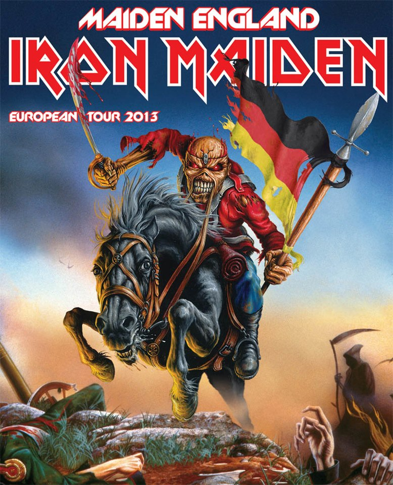 iron maiden european tour 2013