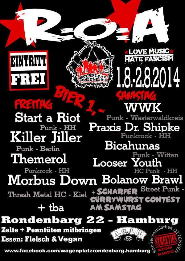 rondenbarg open air 2014