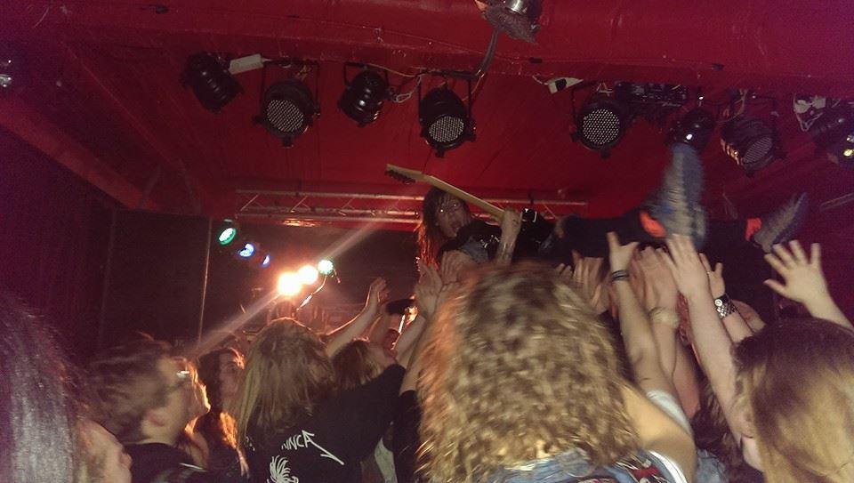 skull fist live @marx, hamburg, 24.03.2014