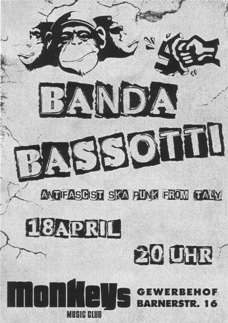 banda bassotti + bolanow brawl @monkeys music club, hamburg, 18.04.2015 2