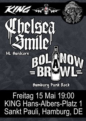 chelsea smile + bolanow brawl @king, hamburg, 15.05.2015