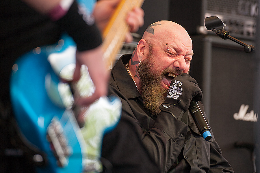 Paul Di'Anno - Photo by Dieter Dengel, fotoblog.dengelnet.de