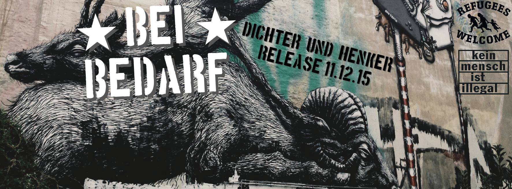 shitlers, die + bei bedarf @menschenzoo, hamburg, 20160305