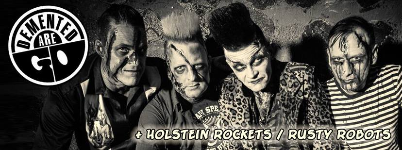 demented are go + holstein rockets @monkeys music club, hamburg, 20160611